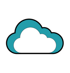cloud icon image vector image