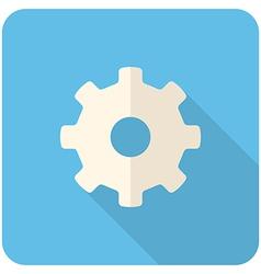 Settings icon vector