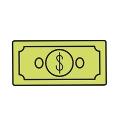 Bills money financial item vector
