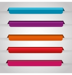 Bookmark icons vector