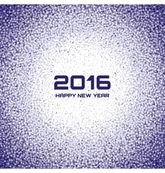 Blue - violet new year 2016 snow flake background vector
