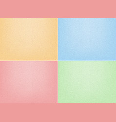 Four background template with sand papers vector