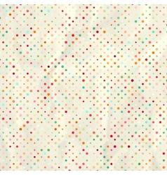 vintage polka dots EPS 8 vector image vector image