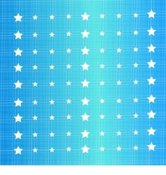 star polka dots vector image