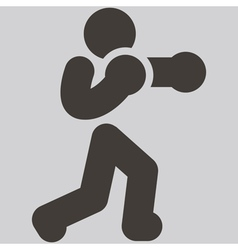 Boxing icon vector