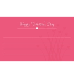 Happy Valentine Day card collection vector image vector image