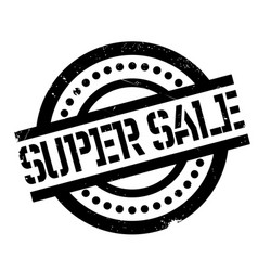 super sale rubber stamp vector image vector image