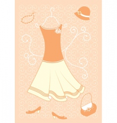 woman's fashion vector image vector image
