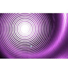 Abstract pink spiral vector
