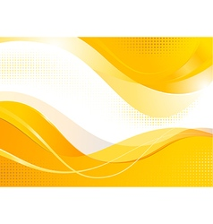 Gold composition vector image vector image