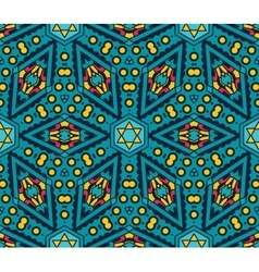 Seamless geometric print vector