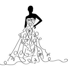Bridal shower12 vector