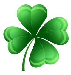 Shamrock or clover leaf vector