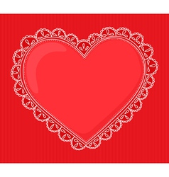 handdrawn heart vector image