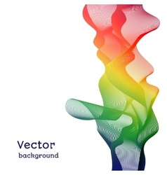background of lines vector image