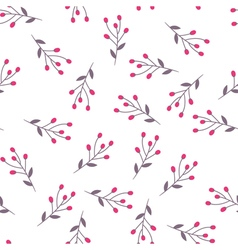 Berry seamless pattern 02 vector