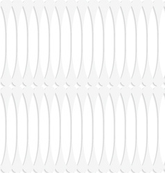 Paper white fence with thickening vector