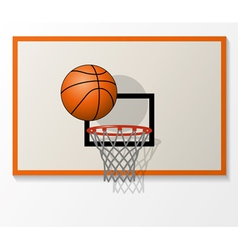 Basketball game vector