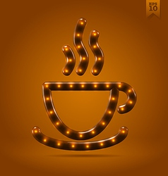 For the love of coffee vector image