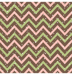 Snowy Chevron Seamless Pattern vector image vector image