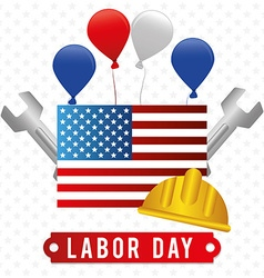 Labor day design vector