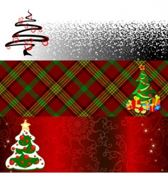 banner Christmas vector image