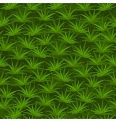 Cartoon seamless tilable grass pattern vector