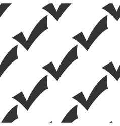 Check mark icon pattern vector image vector image
