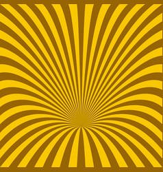 curved ray burst background - graphic vector image vector image