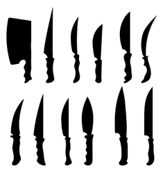 Knives vector image vector image
