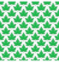 Maple leaf pattern vector image vector image
