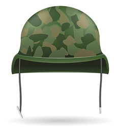 military helmets 04 vector image vector image