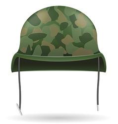 military helmets 04 vector image
