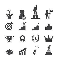 success icon set vector image