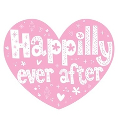 Happily ever after 2 vector