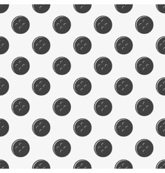 Seamless pattern of buttons vector