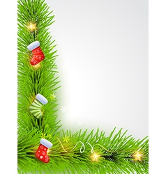 Beutiful christmas background vector