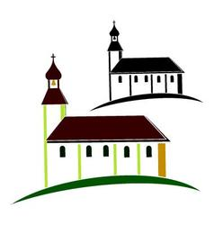 Church symbol vector image vector image