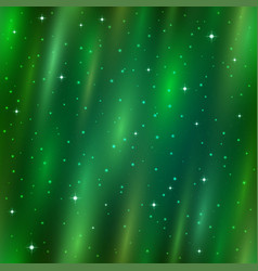 Seamless background aurora borealis vector