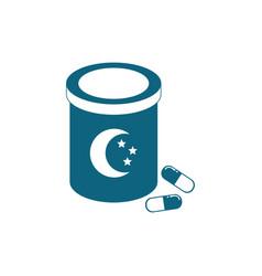 Sleep pills medicine vector