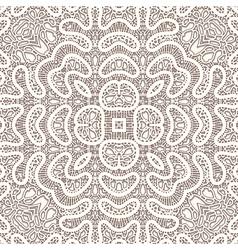 Vintage lace vector image