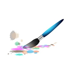 colourful pen vector image
