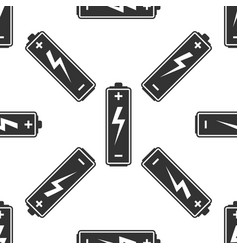 battery icon seamless pattern on white background vector image vector image