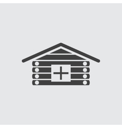 Clinic icon vector image
