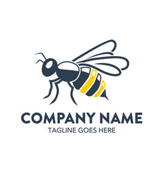 Bee logo-20 vector