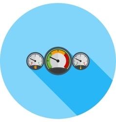 Car meters vector