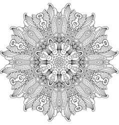 Mandala design element vector