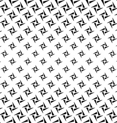 Monochrome rectangles from triangles pattern vector