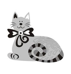 Beautiful cat vector image vector image
