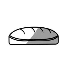 Bread food delicious picnic shadow vector